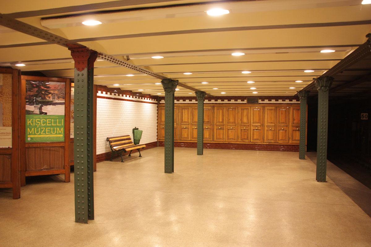 Будапешт. Станция метро Площадь Героев (Hősök tere)