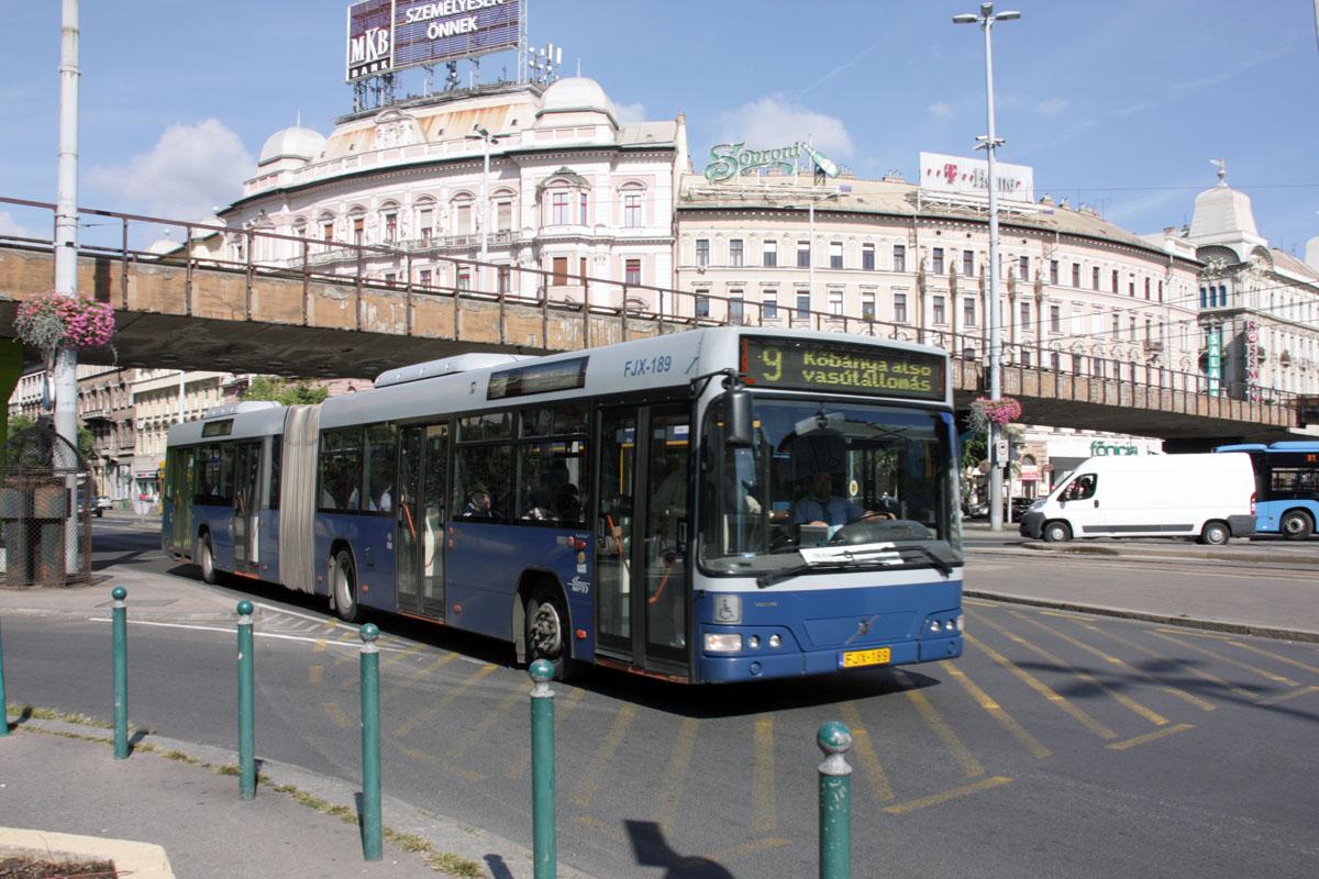 Будапешт. Volvo 7700A FJX-189