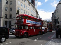 Лондон. Park Royal RM (AEC Routemaster) ALM 60B