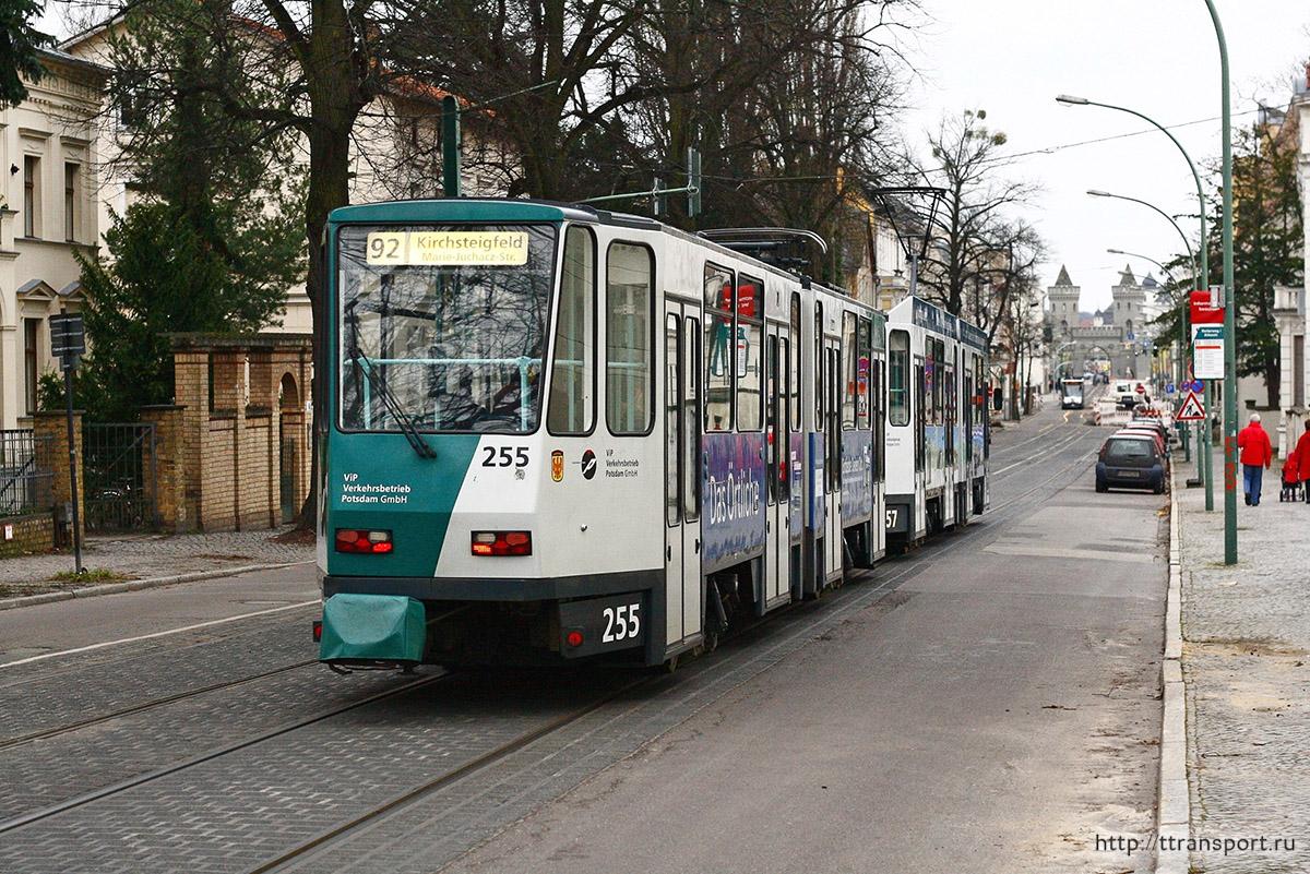 Потсдам. Tatra KT4DMC №255, Tatra KT4DMC №157