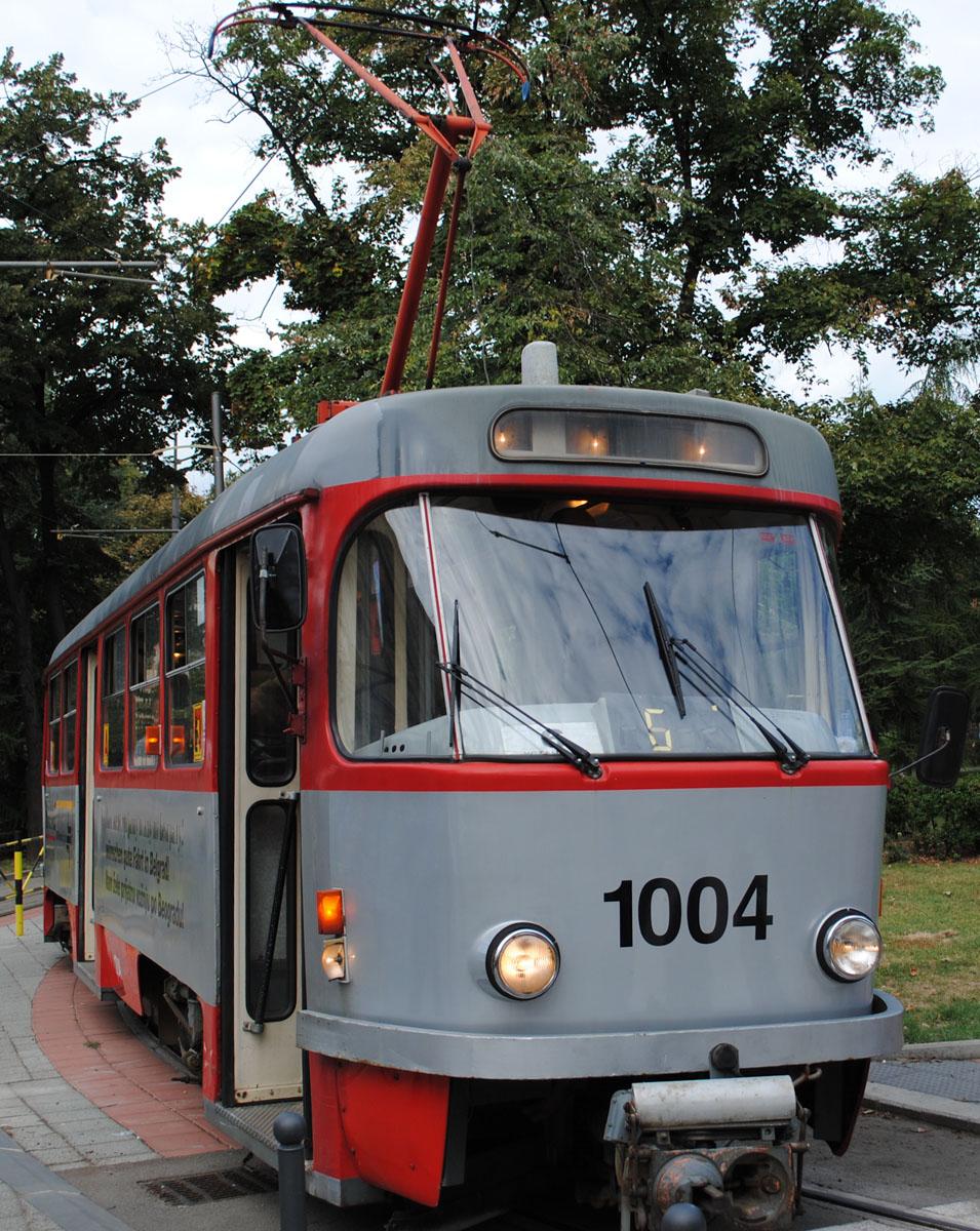 Белград. Tatra T4 №1004
