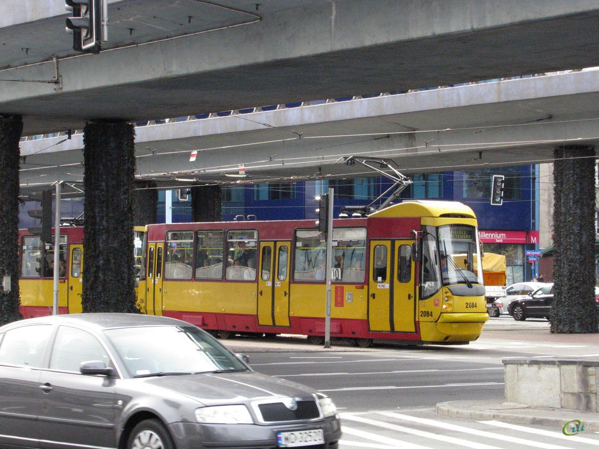 Варшава. Konstal 105N2k/2000 №2084