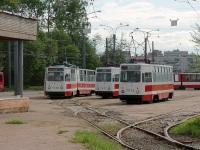 Санкт-Петербург. ЛМ-68М №7630, ЛВС-86К №7082, ЛМ-68М №7572