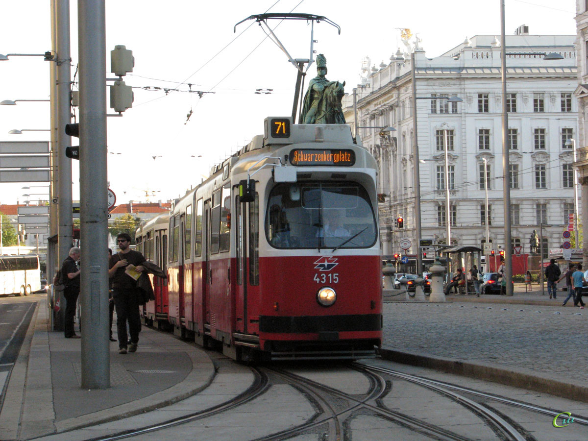 Вена. Lohner E2 №4315