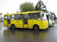 Рыбинск. Автобус Богдан А092 №285 (е497ем), маршрут 16т
