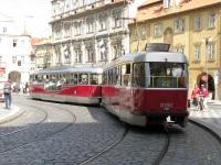 Прага. Tatra T3R.PLF №8270, Tatra T3R.PV №8160