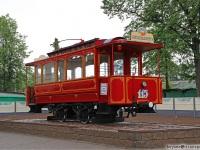 Витебск. Двухосный моторный вагон №115