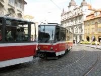 Прага. Tatra T6A5 №8726