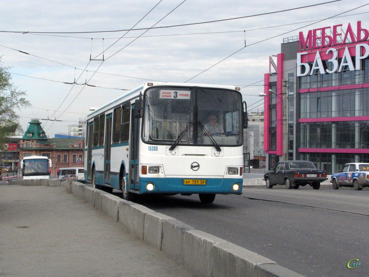 Нижний Новгород. ЛиАЗ-5256 ар731