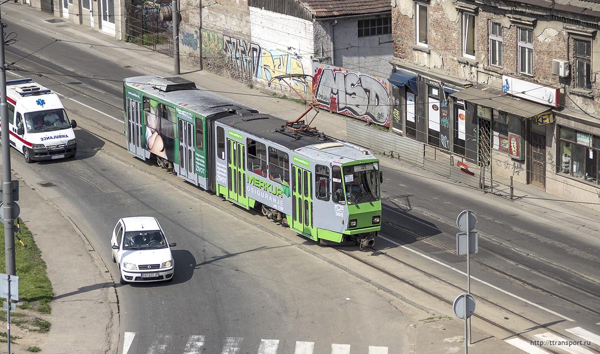 Белград. Tatra KT4YU №305