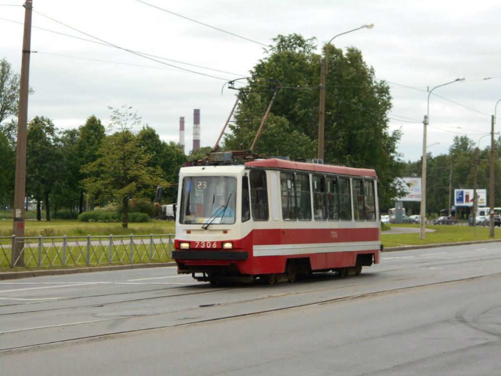 Санкт-Петербург. 71-134А (ЛМ-99АВ) №7306
