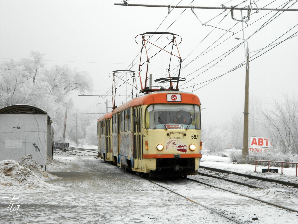 Волгоград. Tatra T3 №5821, Tatra T3 №5822