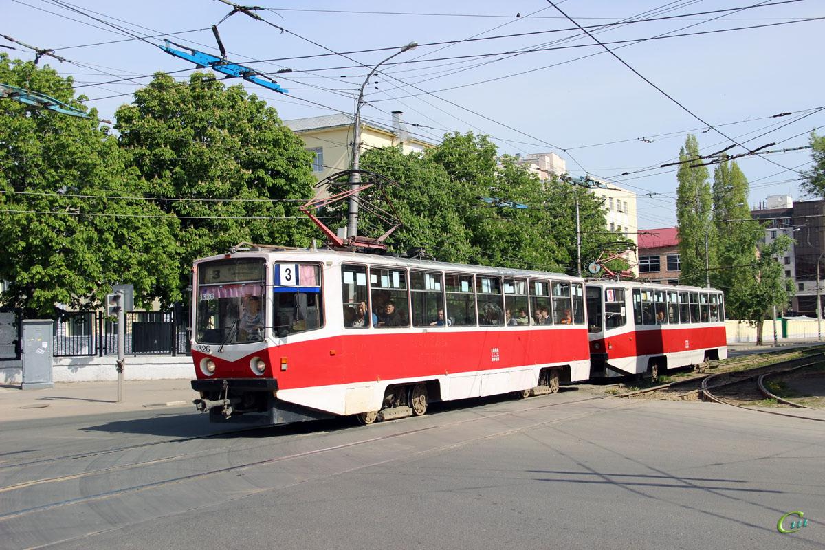 Саратов. 71-608КМ (КТМ-8М) №1326, 71-608КМ (КТМ-8М) №1328