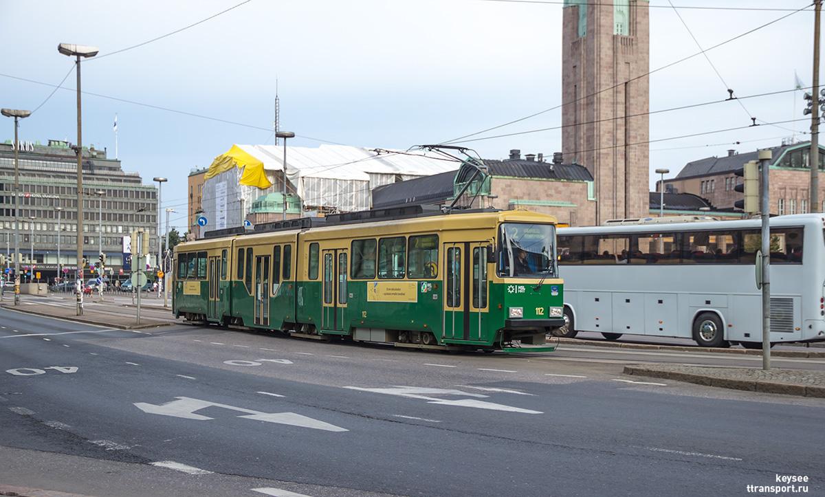 Хельсинки. Valmet Nr II №112