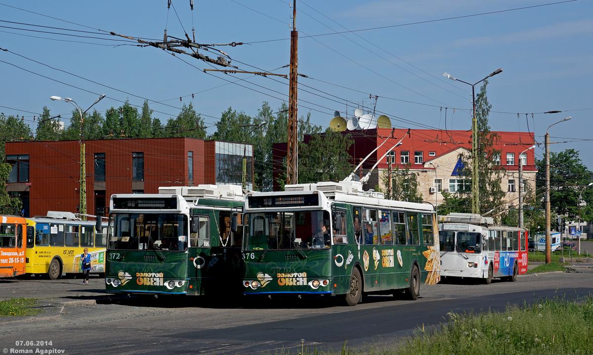 Петрозаводск. ЗиУ-682Г-016.02 (ЗиУ-682Г0М) №376