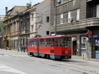 Белград. Tatra KT4 №213