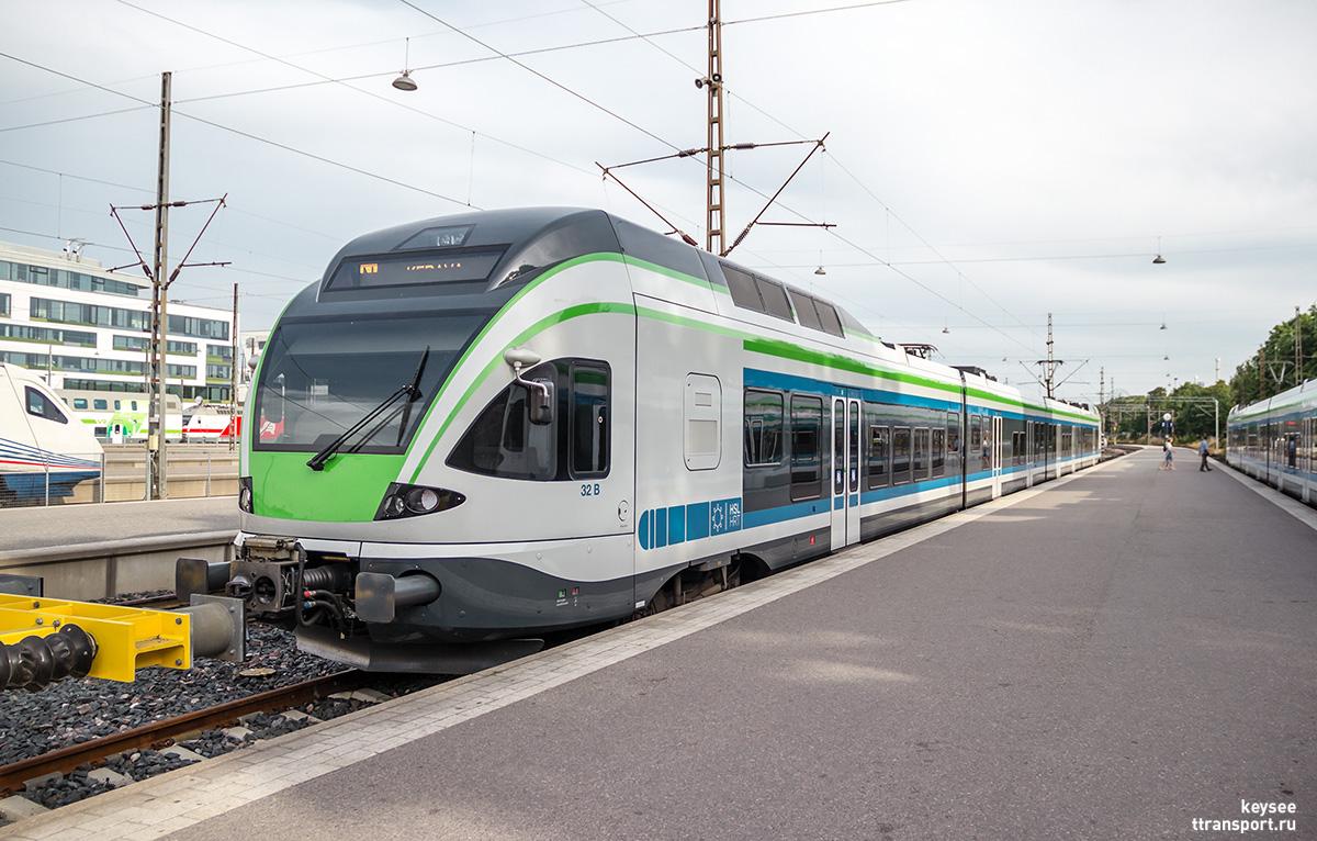 Хельсинки. Stadler FLIRT (Sm5)-32