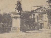 Санкт-Петербург. Трамваи рядом с Михайловским замком