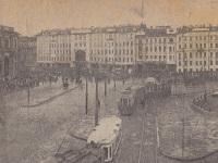 Санкт-Петербург. Трамваи на площади Восстания
