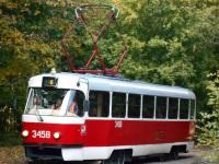 Москва. Tatra T3 (МТТЧ) №3458