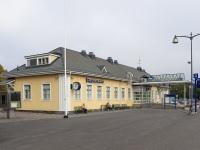 Лаппеэнранта. Здание железнодорожного вокзала