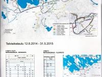 Лаппеэнранта. Расписание и схема движения автобусов на к/ст Matkakeskus («Туристический центр»)