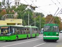 Харьков. ЛАЗ-Е301 №3217, ЗиУ-682В-013 (ЗиУ-682В0В) №204
