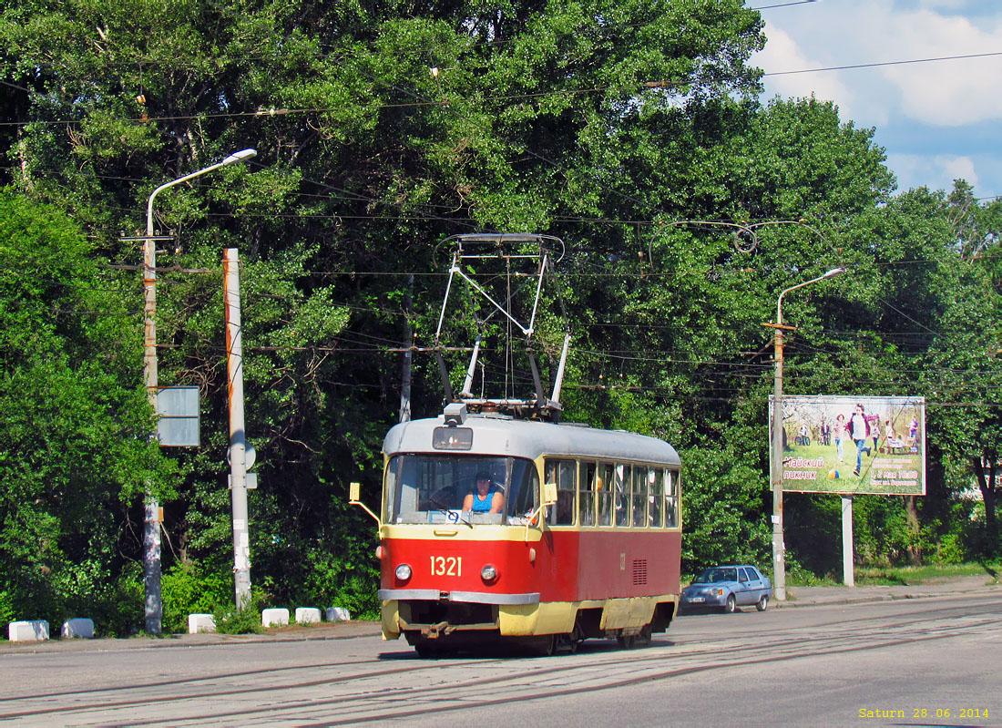 Днепр. Tatra T3 №1321