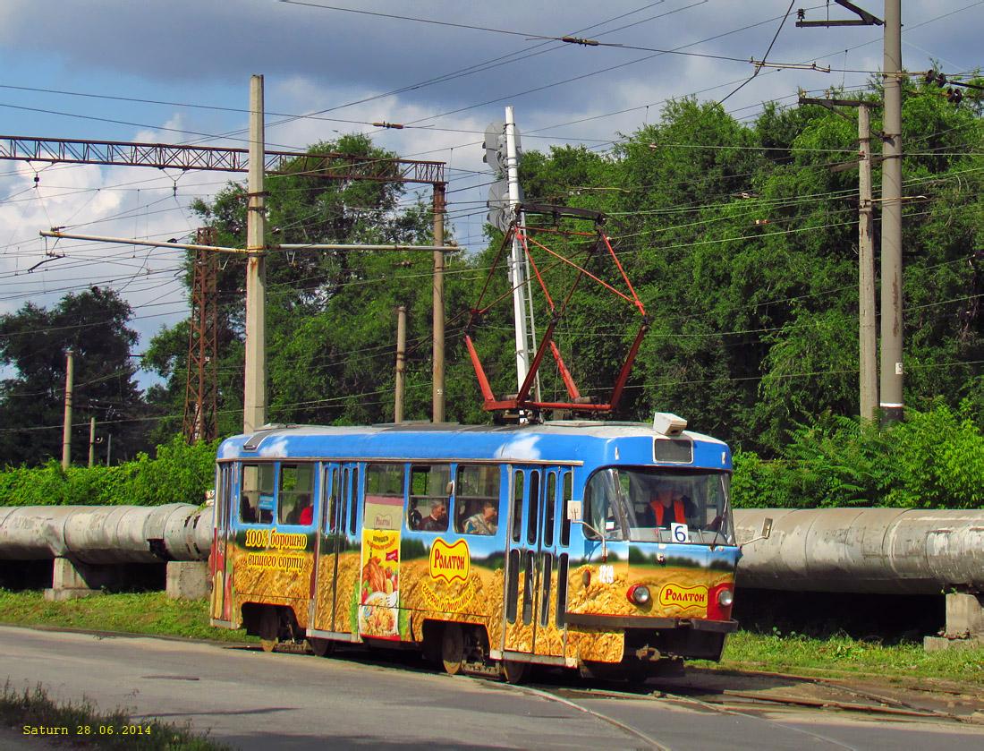 Днепр. Tatra T3SU №1219