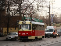 Москва. Tatra T3 (МТТЧ) №3415