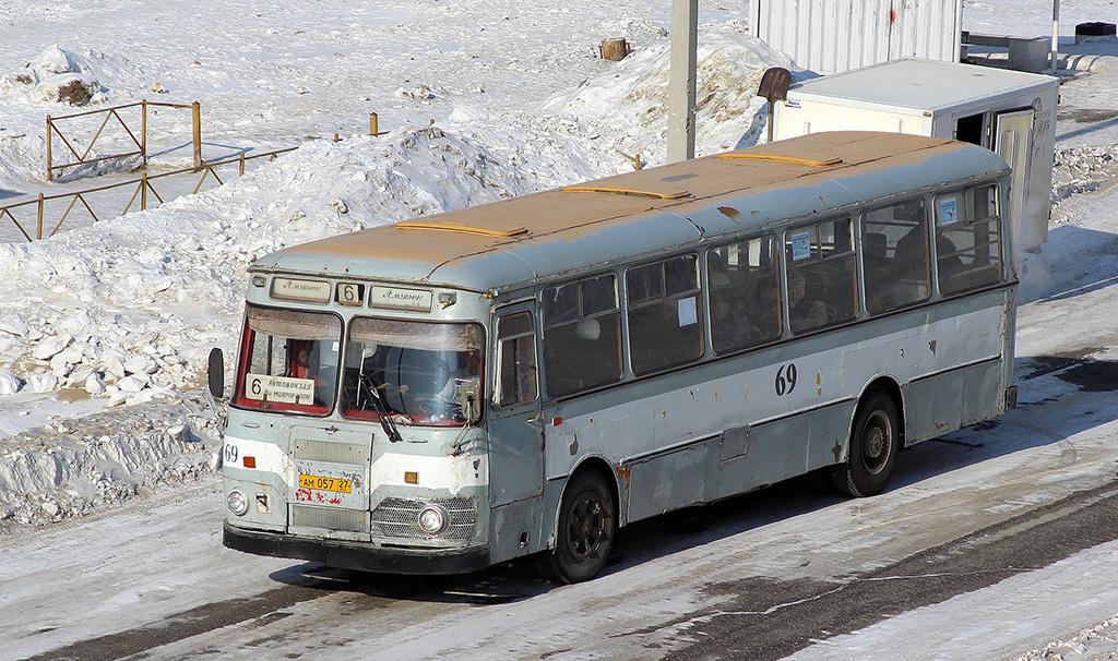 Амурск. ЛиАЗ-677М ам057
