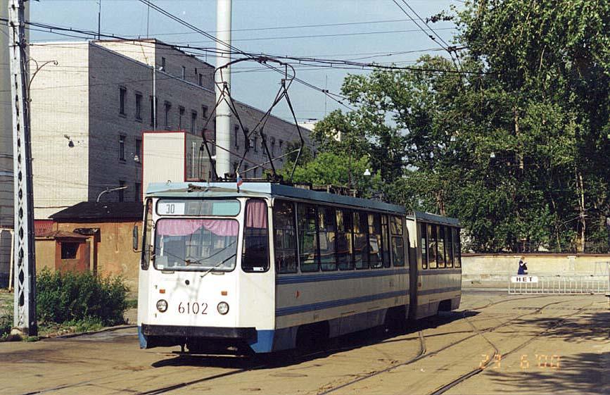 Санкт-Петербург. 71-147К (ЛВС-97К) №6102