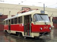 Москва. Tatra T3 (МТТЧ) №3431