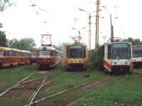 Тула. Tatra T3SU №33, Tatra T3SU №34, 71-608К (КТМ-8) №150, 71-608К (КТМ-8) №41, 71-608К (КТМ-8) №101, Tatra T3 №120
