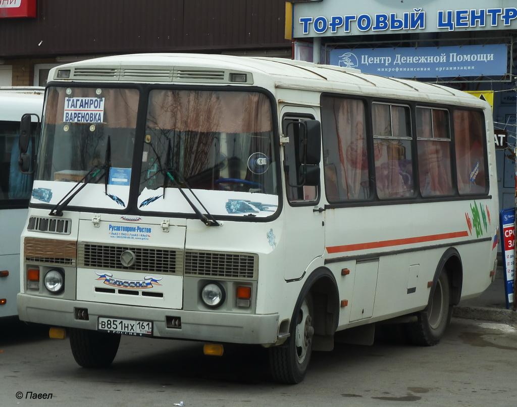 Таганрог. ПАЗ-32054 в851нх