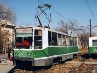 Хабаровск. 71-608К (КТМ-8) №393, 71-605 (КТМ-5) №366