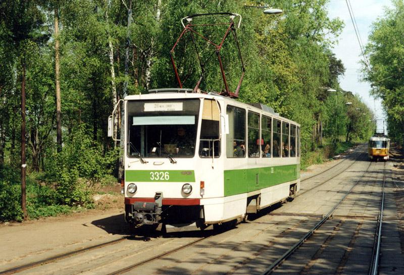 Москва. Tatra T7B5 №3326