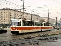 Москва. Tatra T7B5 №7001, Tatra T7B5 №7002