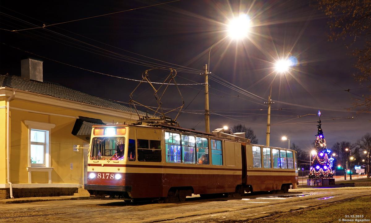 Санкт-Петербург. ЛВС-86К №8178