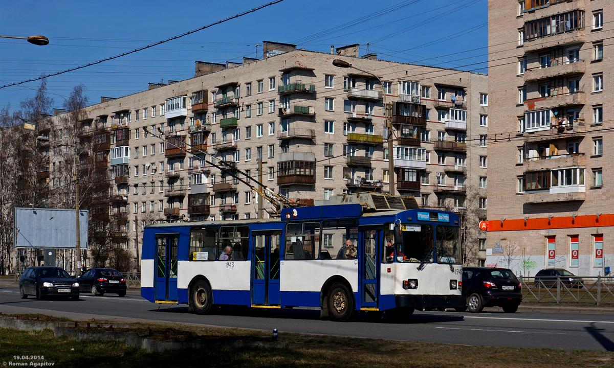 Санкт-Петербург. БТЗ-52011 №1943