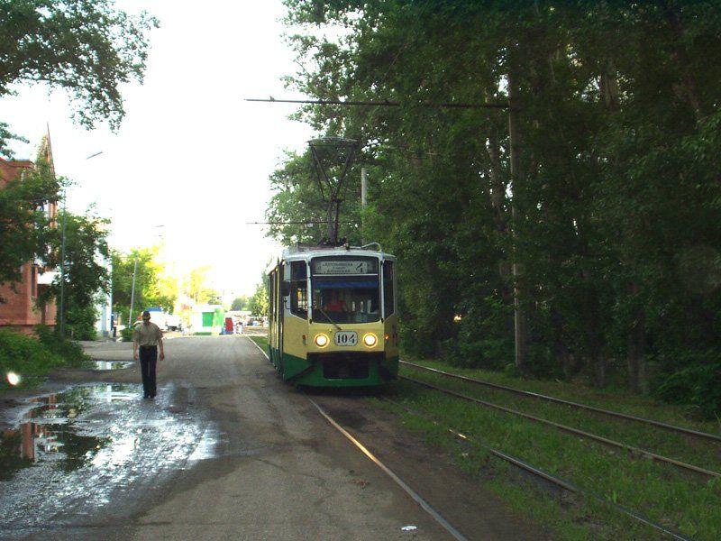 Омск. 71-608КМ (КТМ-8М) №104