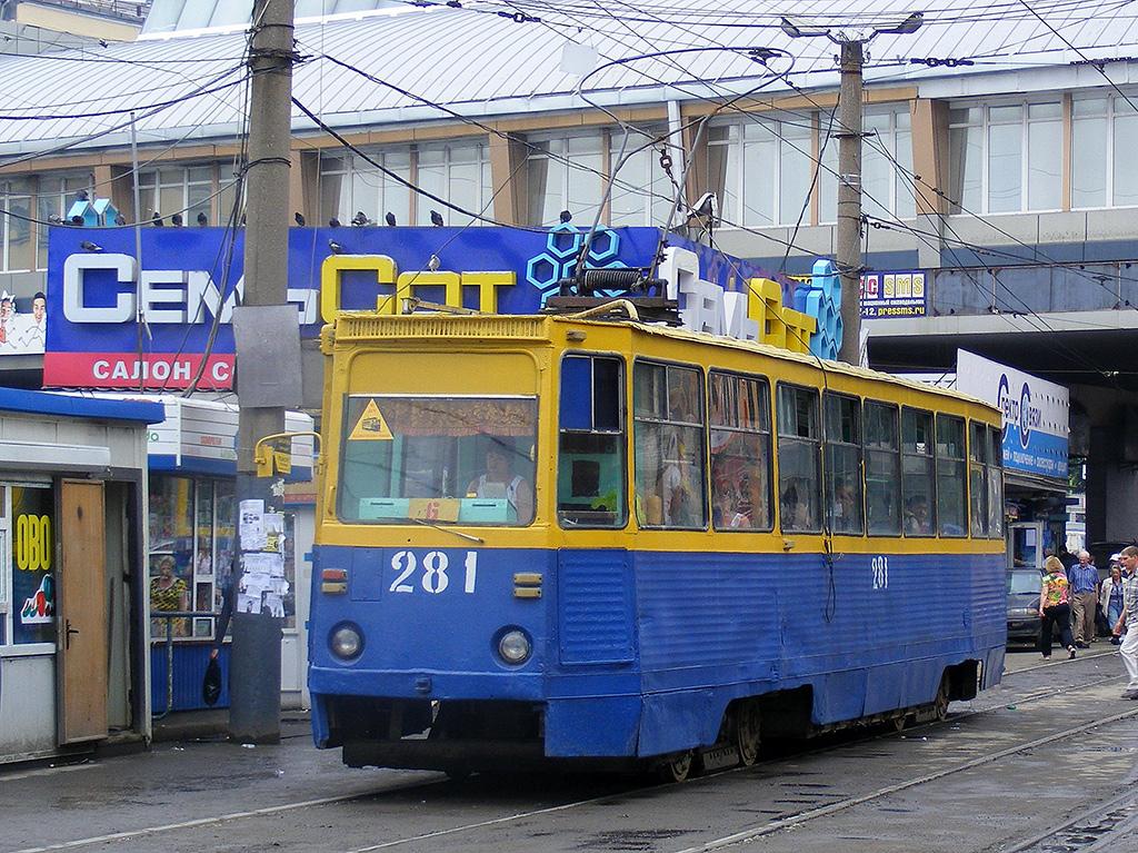 Владивосток. 71-605А (КТМ-5А) №281