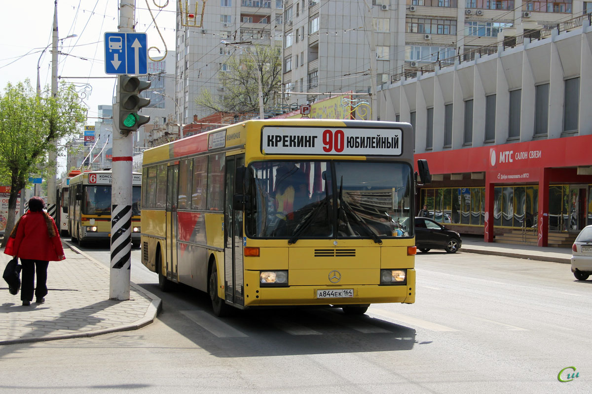 Саратов. Mercedes-Benz O405 а844ек