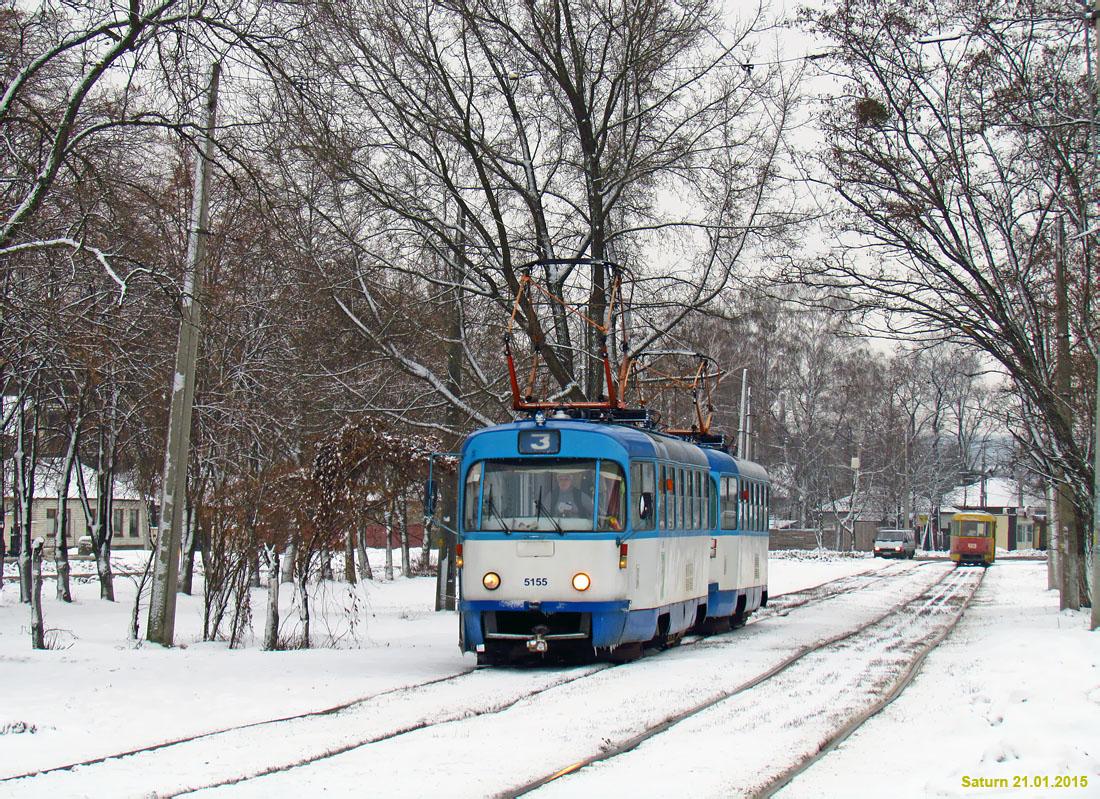 Харьков. Tatra T3A №5155, Tatra T3A №5156