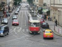 Прага. Tatra T3SUCS №7135