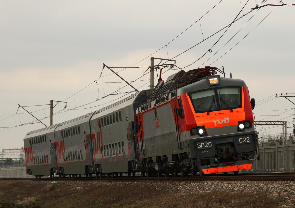 Москва. ЭП20-022