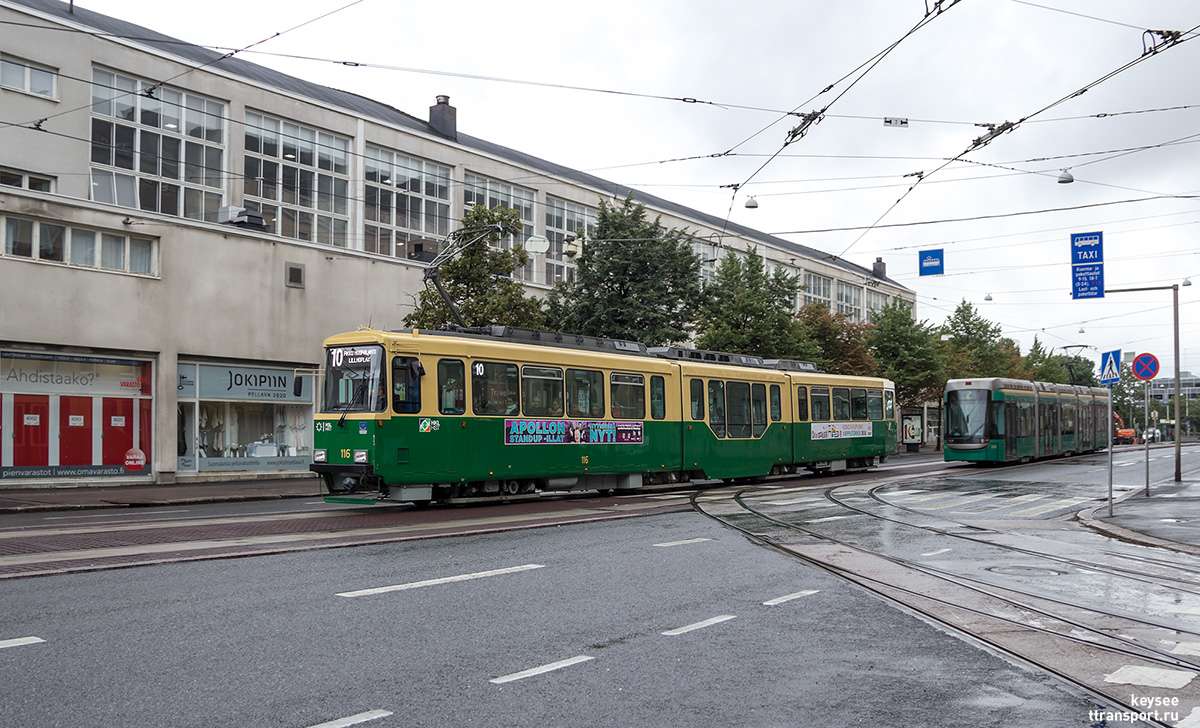 Хельсинки. Valmet Nr I №116