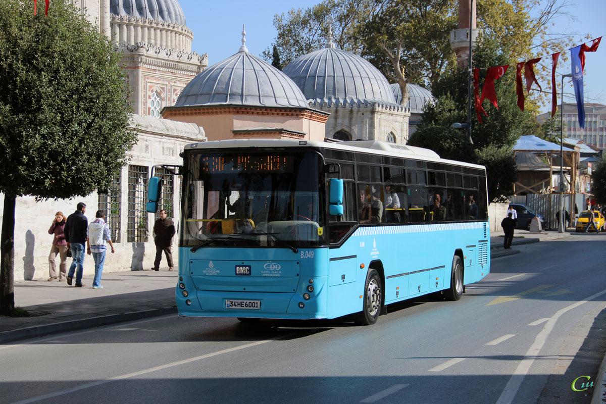 Стамбул. BMC Belde 34 HE 6001