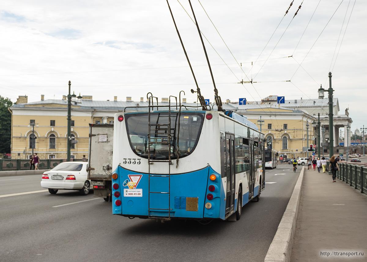 Санкт-Петербург. Троллейбус ВМЗ-5298