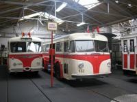 Прага. Tatra T400 №431, Škoda 8Tr №494